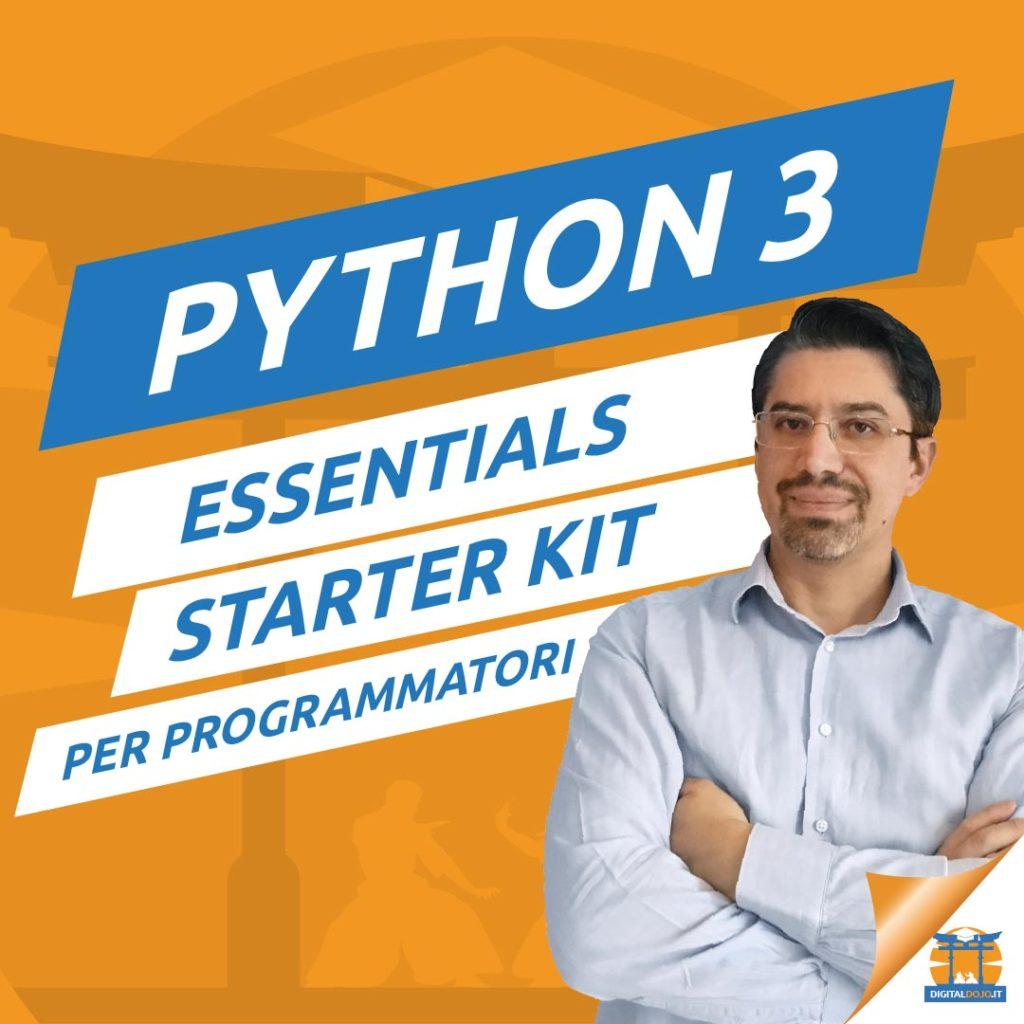 corso python programmazione
